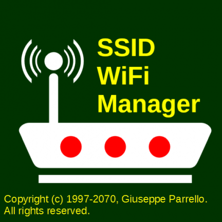 SSID WiFi Manager