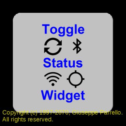 Toggle Status Widget